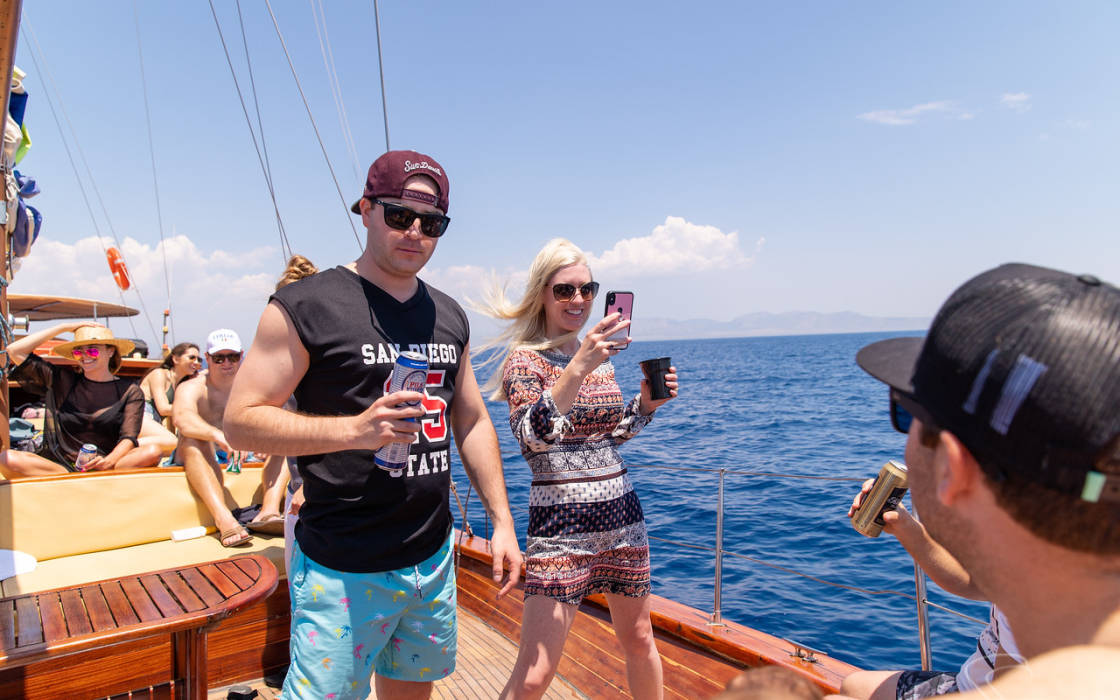 A full day private Sailing in the Saronic